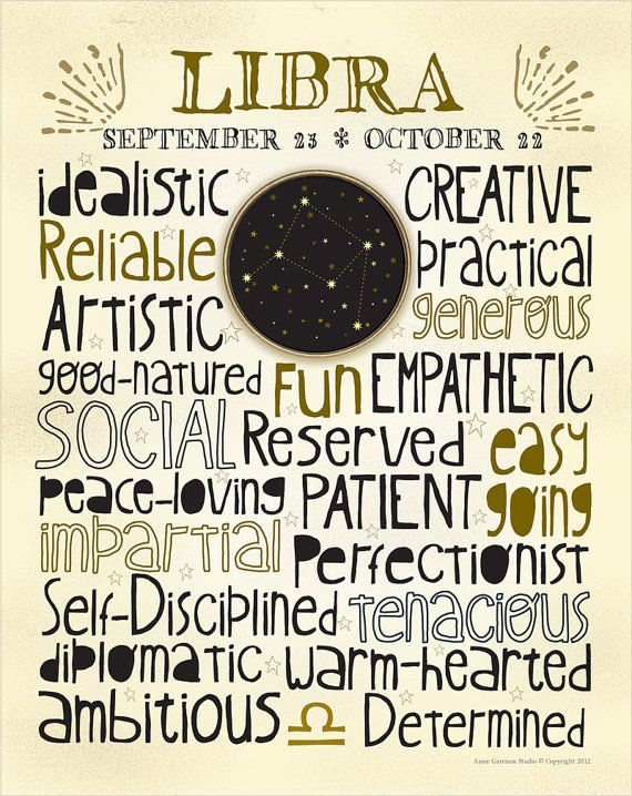 LIBRA- I don't quite believe in astrology defining you, BUT this does summarize me dang well!!!