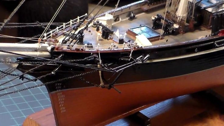 REVELL 1959 CUTTY SARK winter finish up build video 1
