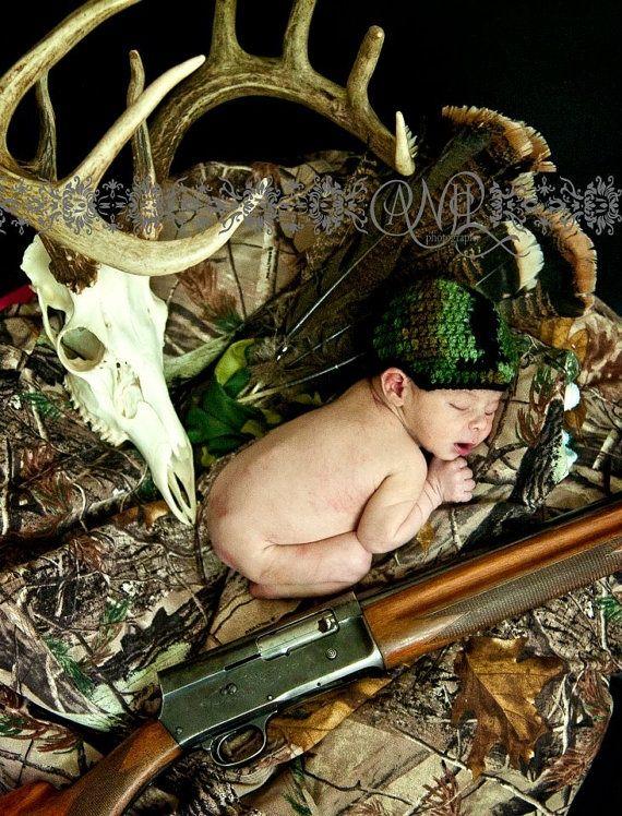 Camo newborn camouflage