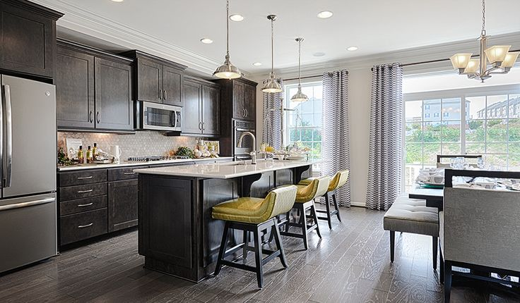 Kenyon-MYD-Kitchen | Elkridge Crossing | Richmond American Homes | Elkridge, MD | Elkridge Crossing offers a beautiful collection of townhomes in Howard County with abundant personalization options. Residents will appreciate popular Howard County schools and nearby parks. They will also enjoy easy access to the Baltimore/Washington Parkway, Route 100, Interstate 295, Interstate 95 and the Baltimore/Washington International Airport. Across the nation and in MD area we're one of America's…