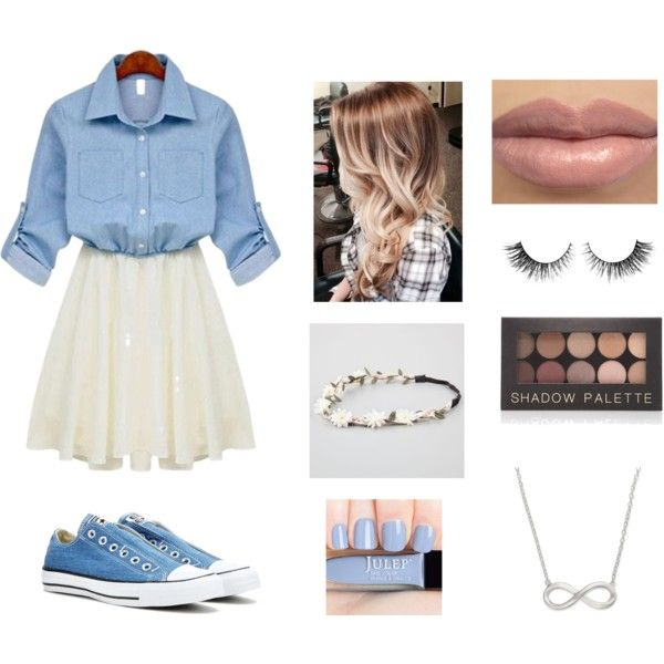 Denim inspired outfit