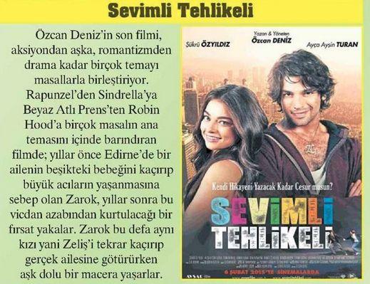SEVİMLİ TEHLİKELİ / Posta (14.02.2015)