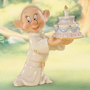 Snow White and the Seven Dwarfs - Dopey's Birthday Wish - Lenox - Classics Lenox - World-Wide-Art.com - $30.00