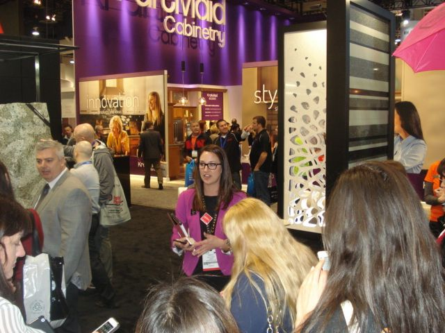 During our event at @Cambria #kbtribechat #kbis2014