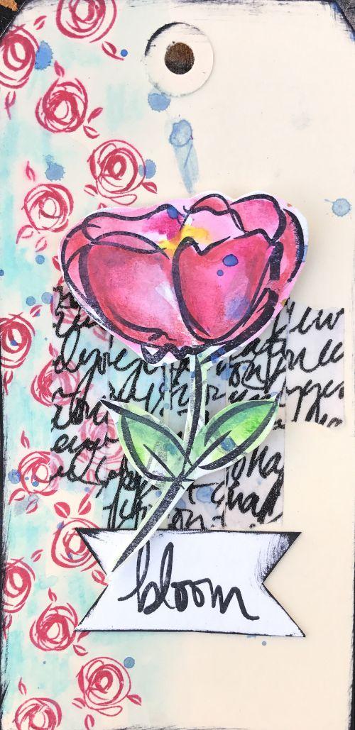 Δοκιμάστε τα υπέροχα scribble sticks της Dina Wakley σε όλες σας τις δημιουργίες!