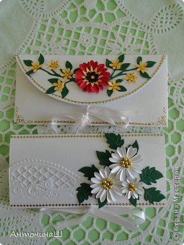 Картина панно рисунок Квиллинг Цветы России  Бумажные полосы фото 9
