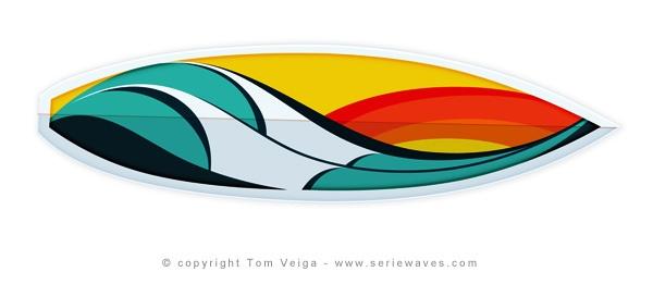 Surfart in Boards by Tom_Veiga, via Flickr