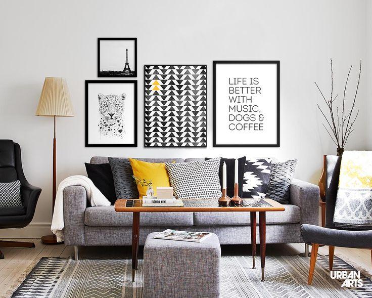 25 melhores ideias de prateleiras de sala de estar no