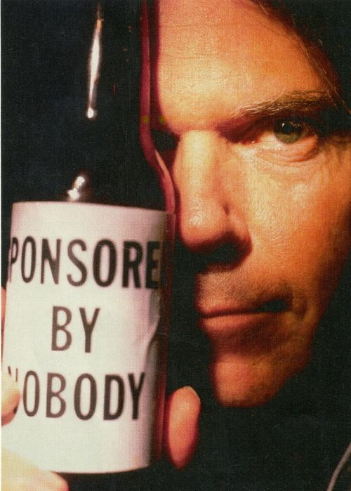 Neil Young - This Note's For You - sponsored by nobody.