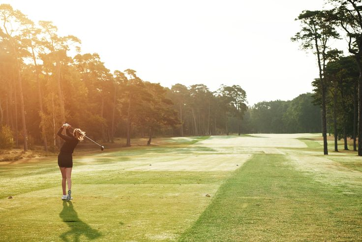 Fairway to heaven. #golf #swing #green #sunset #fairway