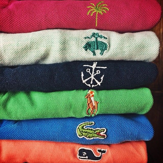 #preppy #ivy #league Southern Tide - Brooks Brothers - Vineyard Vines - Lacoste - Ralph Lauren - Lilly P...