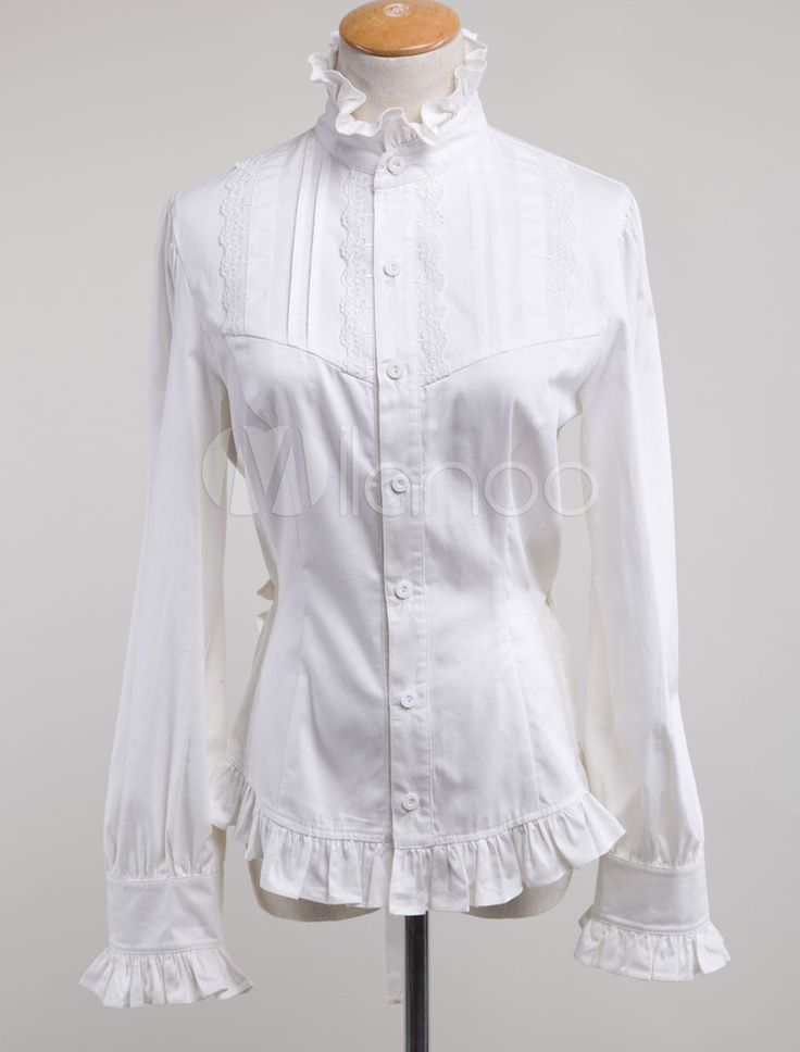 Shop new, vintage inspired, Edwardian style blouses and tops. Featuring romantic lace, Gibson Girl style puff sleeves, and delicate embroidery. Shop new, vintage inspired, Edwardian style blouses and tops. Summer Victorian Blouse All Sizes Now rabbetedh.ga Victorian Blouse All Sizes Now Available. $ Vanilla Milk Button-Up Top in.