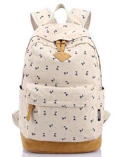 Cute Backpacks for Girls #Canvas