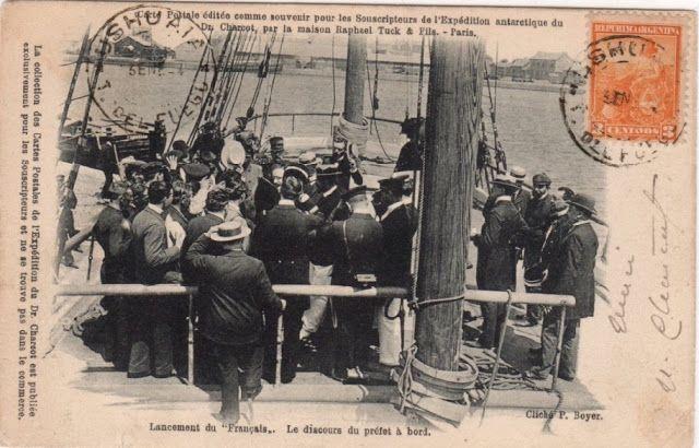 La Marcophilie navale : Jean-Baptiste Charcot
