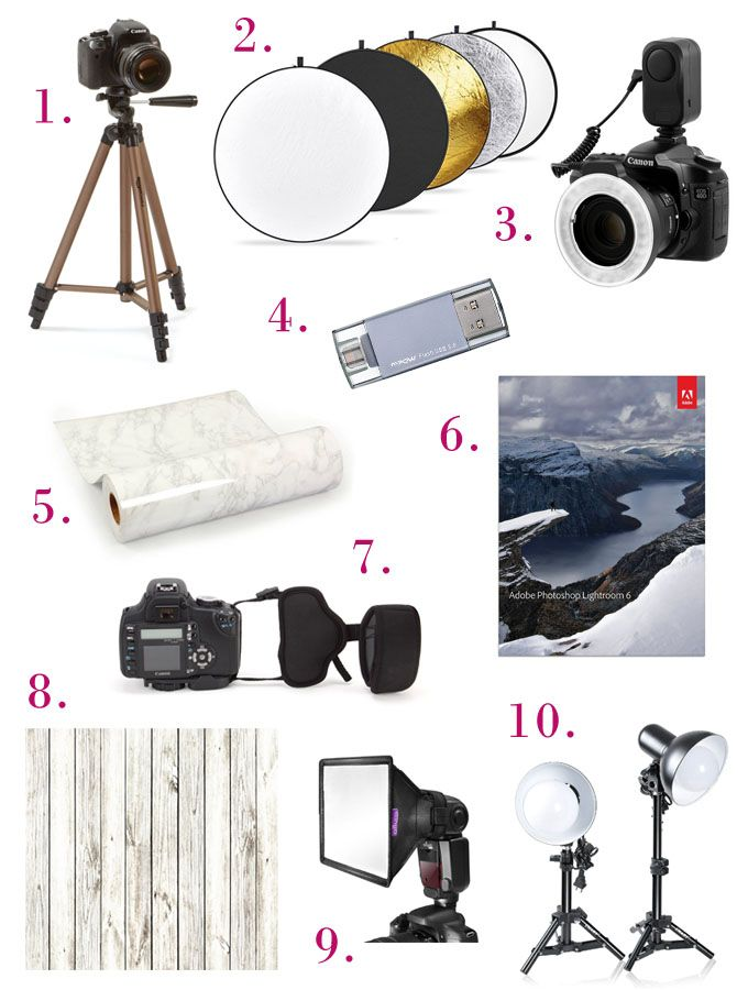 10 of the best products you can buy on Amazon today (and have tomorrow! ;) to up your blog photog game!