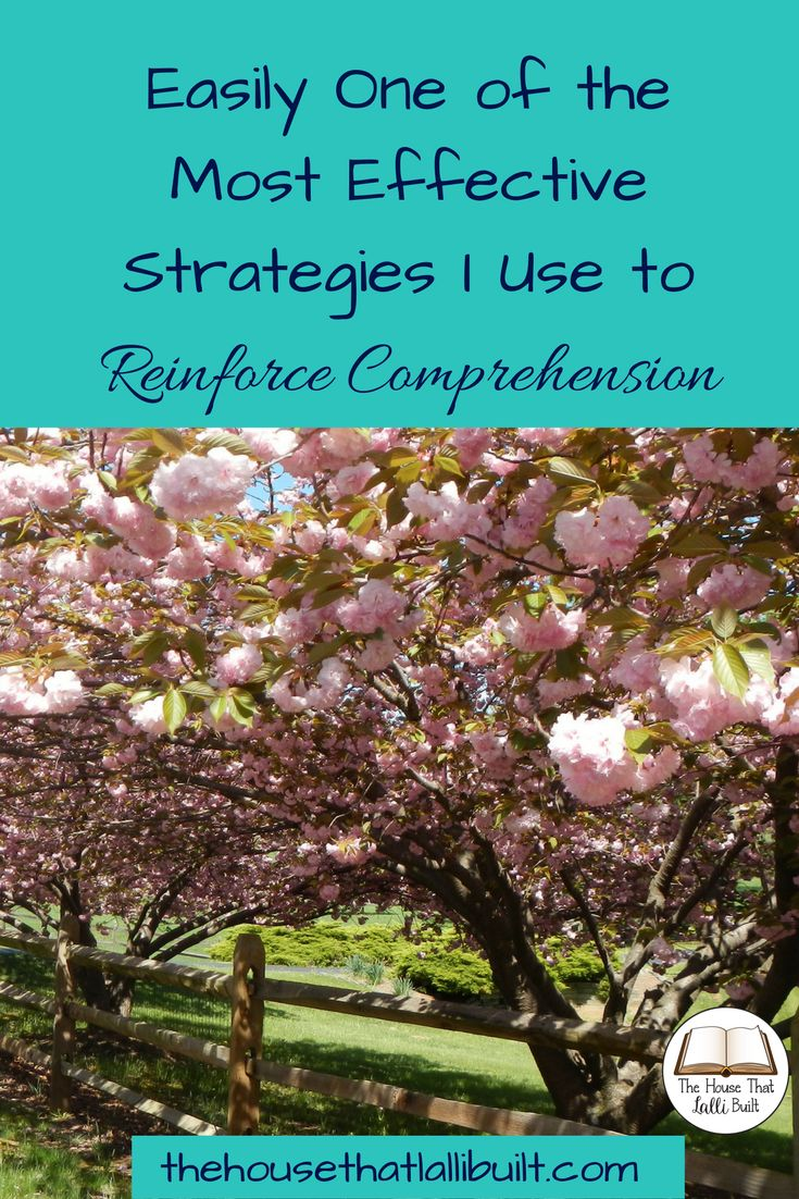 Need an easy strategy to reinforce comprehension? I have one the of the easiest and most effective ways to get your kids thinking about reading. Check it out!