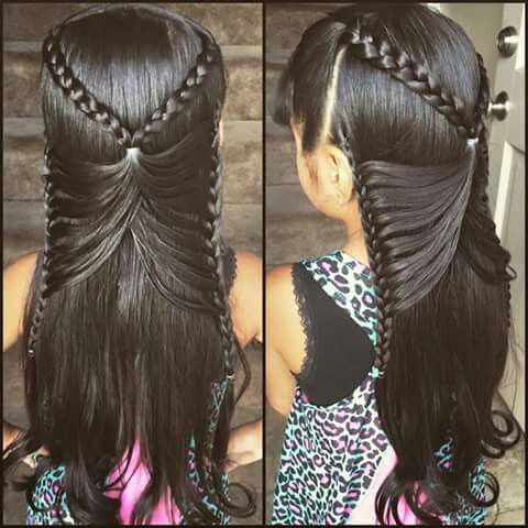 Can't wait for my daughter's hair to grow out!