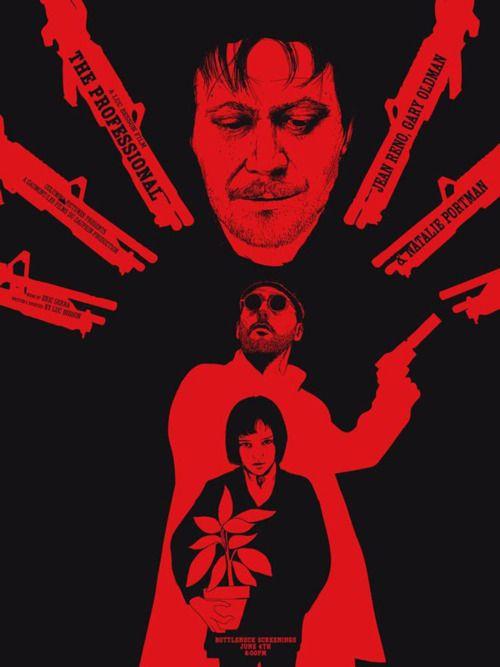 RAWZ: Profess Screens, Poster Design, Movies Art, Favorit Film, Digital Art, Movies Poster, Chris Thornley, The Professional, Film Poster