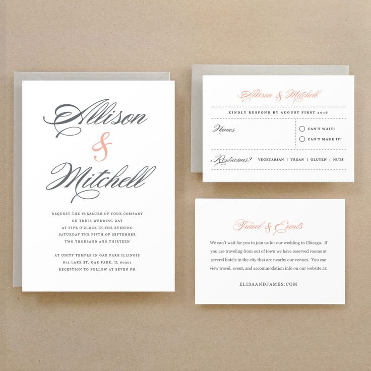 Lucky Script Printable Wedding Invitation Template