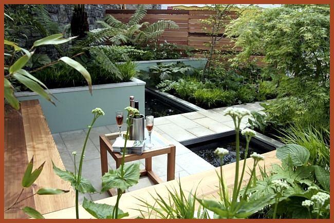 #dynamische #Gärten #Gestaltung #Holz #Sitzbank – –