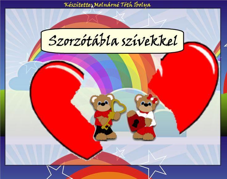 Fotó itt: Szorzótábla szívekkel interaktív tananyag - Google Fotók