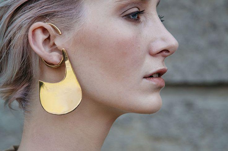 guillo ear cuff #rivajewels #earcuffandmore #flowercollection