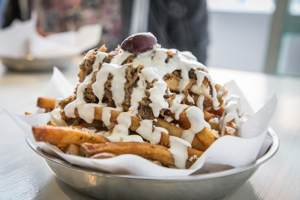 The Greek Toronto - Greek Poutine ($7.50)
