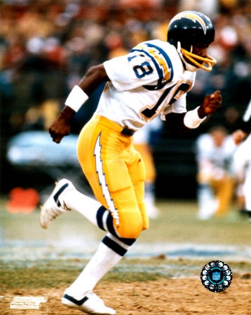 1981 San Diego Chargers Charlie J Hall Of Fame