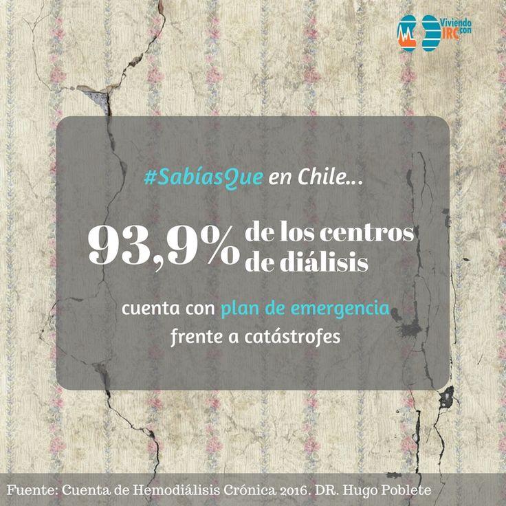Estadísticas, Chile, Salud Renal, Hemodiálsis, Emergencias, Centro de diálisis, Catástrofes