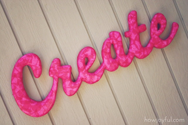 Foam Letters Wall Decor : Ideas about styrofoam crafts on