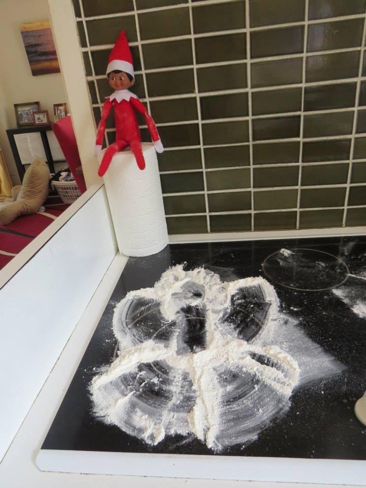 Flour angel