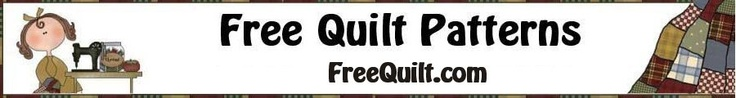 LOTS of links to free quilt patterns at www.freequilt.com