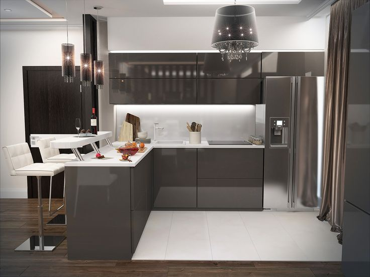 Кухня-столовая в современном стиле - ALNO. Современные кухни: дизайн и эргономика | PINWIN - конкурсы для архитекторов, дизайнеров, декораторов