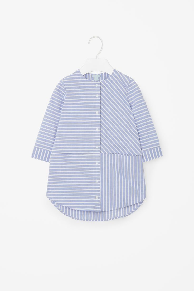 COS | Striped shirt dress