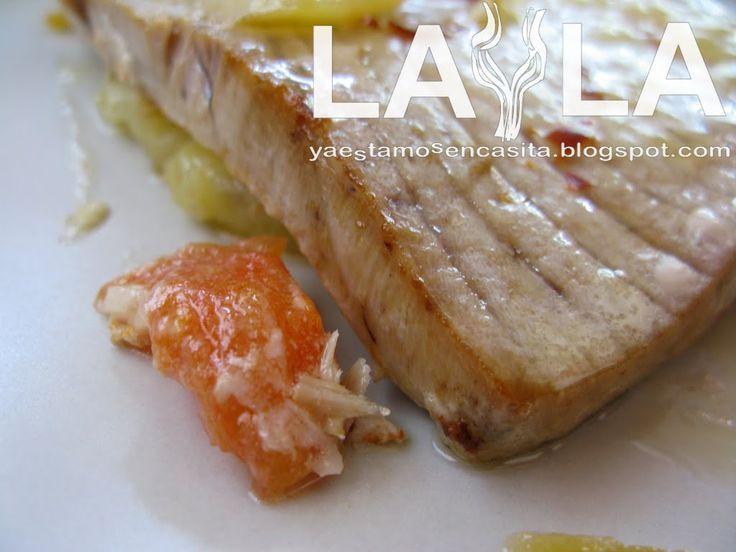 Filetes de atún al horno - Ya Estamos En Casita