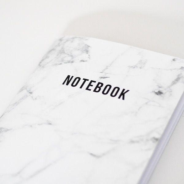 thecatspyjamasclub / marble notebook