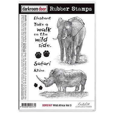 Darkroom Door stamp - Wild Africa vol 3