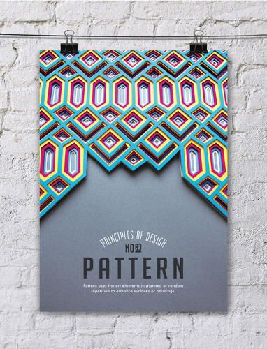 14 | Paper-Art Posters Gorgeously Illustrate Key Design Principles | Co.Design | business + design  I love them so much I hate them.