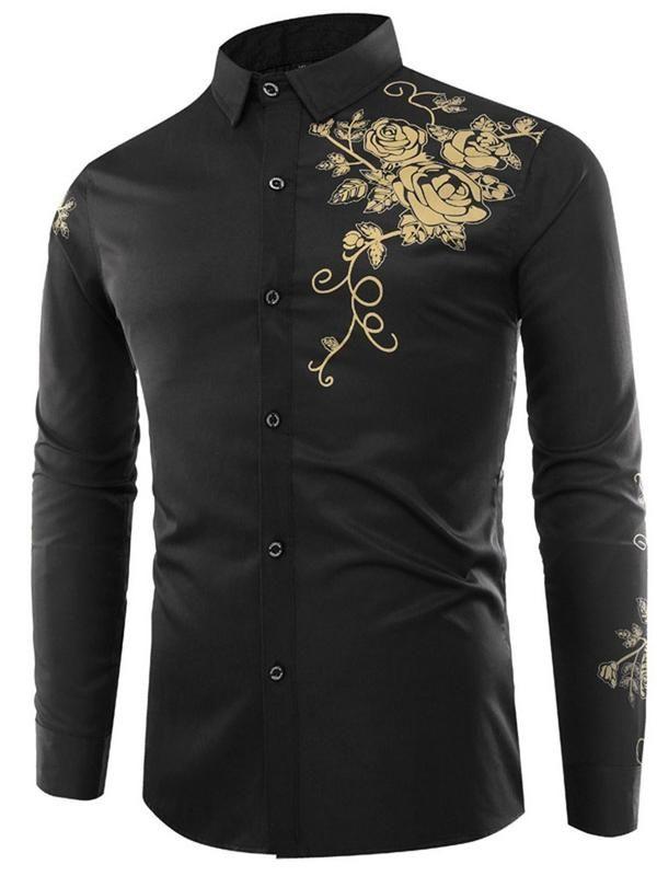 Chemise Homme Mens Fashion Edgy Mens Fashion Casual Slim Fit Dress Shirts