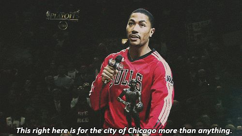 Thank you for bringing back Chicago basketball. | What Every Chicago Bulls Fan Would Like To Say To Derrick Rose