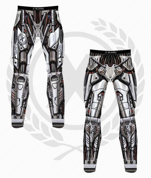 Cyborg Unit 01 Compression Pants (SPATS) – X-Guard Brand   Man, BJJ is the most awesome sports. Few other sports let you dress as a robot.