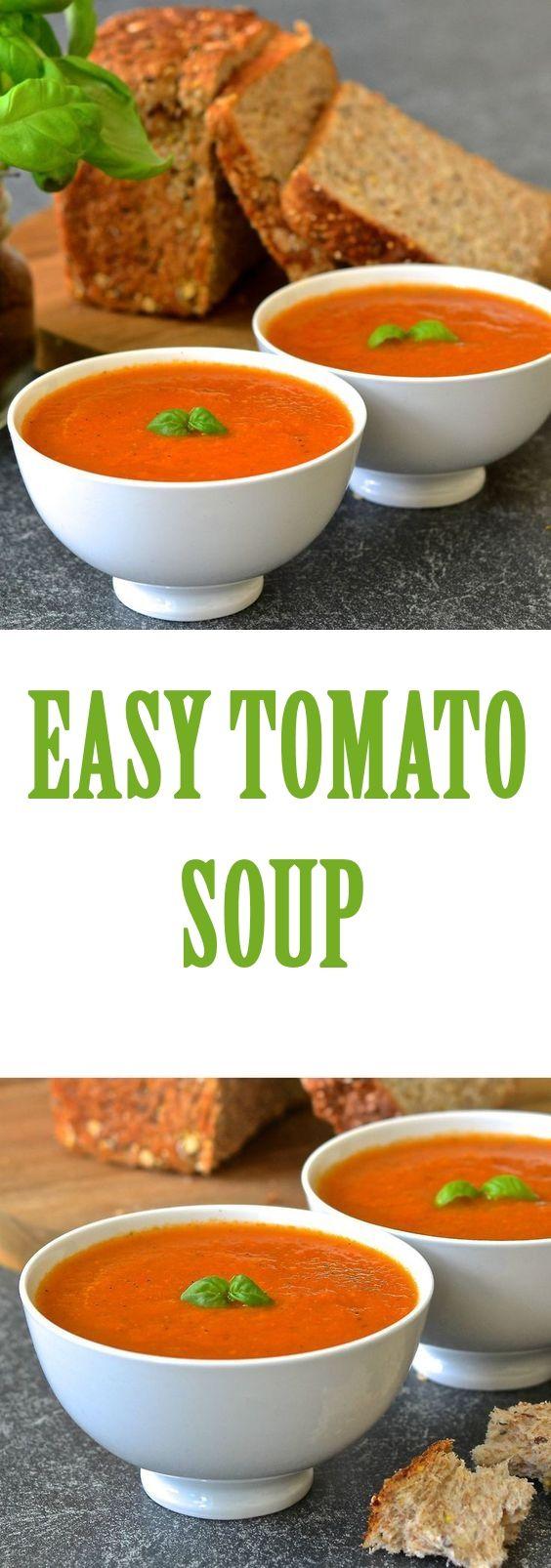 EASY TOMATO SOUP #easytomatosoup