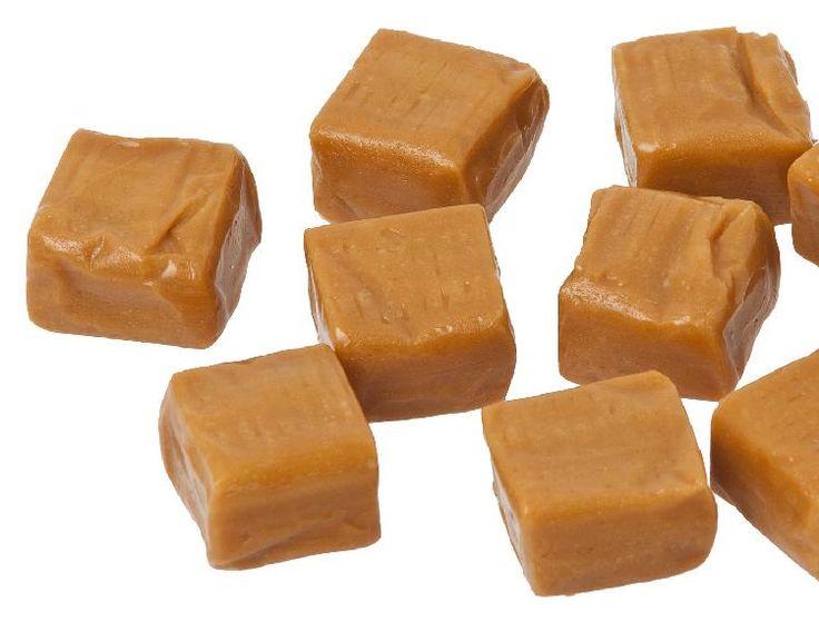 Barritas de dulce de leche o caramelos de leche