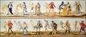La extraña razón por la que pintaban cadáveres bailando en la Edad Media - Arte