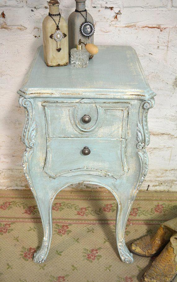 painted cottage chic shabby aqua romantic by paintedcottages rh pinterest com