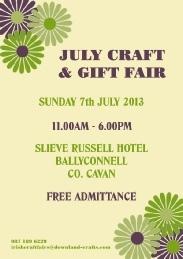 July Craft & Gift Fair
