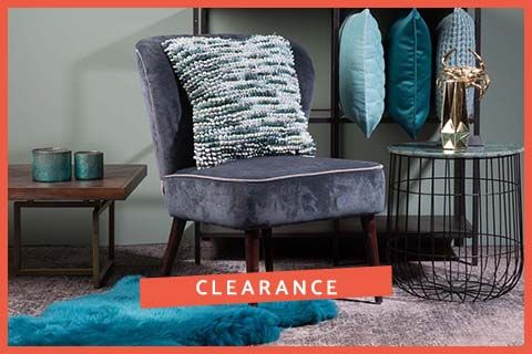 Clearance - soft furnishings - Sumptuous cushions & throws