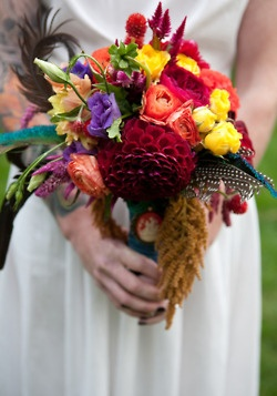 Colorful and fabulous bouquet