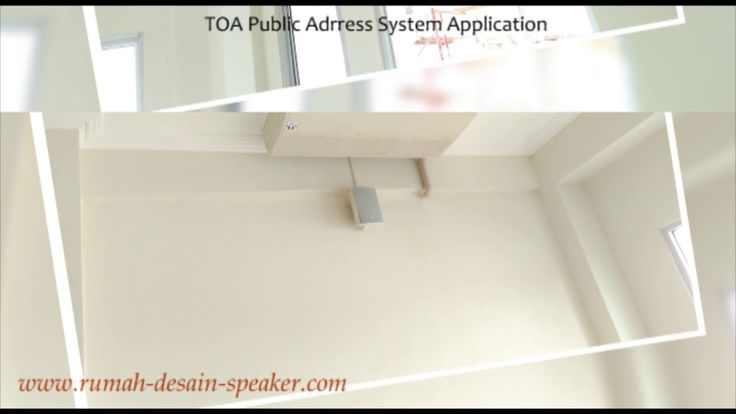 TOA Public Address System Application with ZS-S60CW, ZS-F2000WM and ZS-1...