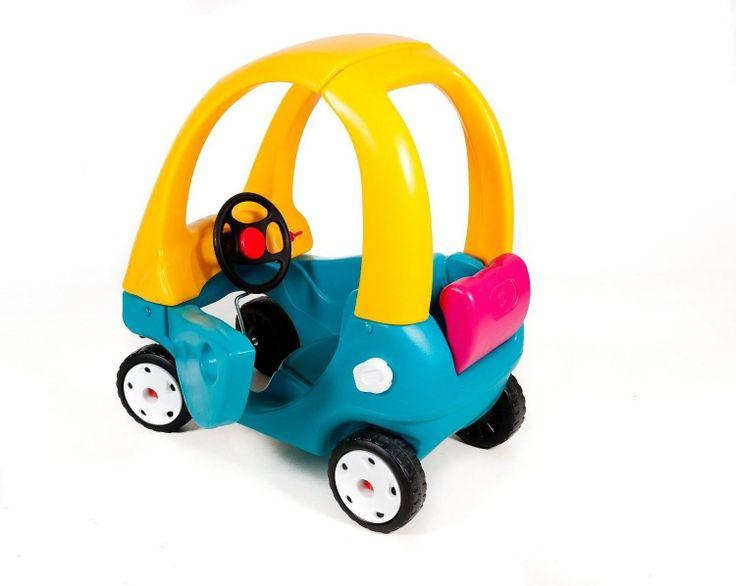 Simpático coche Little Tikes Cozy Coupé . Espacioso coche robusto,, colorido Proporciona horas de juego simulado Adecuado en el hogar, jardinería o vivero Ejercicio de la diversión para los más pequeños. PVP NENEANENE-80€